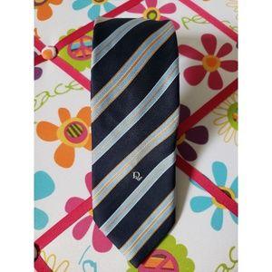 Christian Dior Striped Necktie